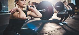 - Kondisjon forbrenner mest der og da, men hvis målet er å gå ned i vekt på sikt er det gunstig å trene styrke