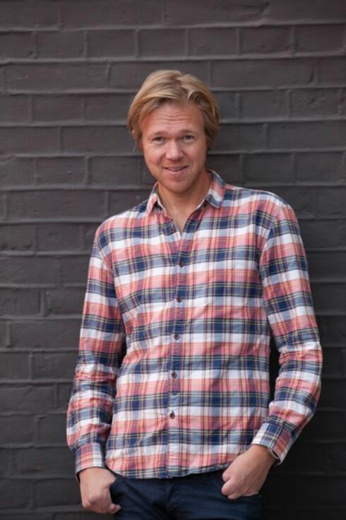 TIPS: Ole André Sivertsen har skrevet boken «Fylla - fra vors til bakrus». Foto: Jannecke Sanne Normann