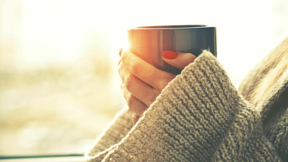 KOFFEIN: Er egentlig koffeinholdig drikke skadelig?  Foto: Shutterstock / A. and I. Kruk