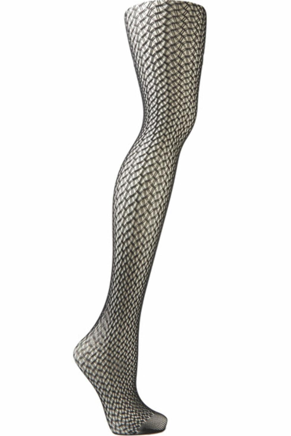 Strømpebukse fra Wolford via Net-a-porter.com | kr 500 | https://www.net-a-porter.com/no/en/product/743916/wolford/nele-geometric-net-tights