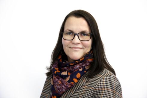 KORTERE LEVEALDER: Margrethe Aulie, kommunikasjonsansvarlig ved Rådet for psykisk helse, forteller at ensomhet faktisk kan føre til kortere levealder dersom det vedvarer.  Foto: Paal Audestad