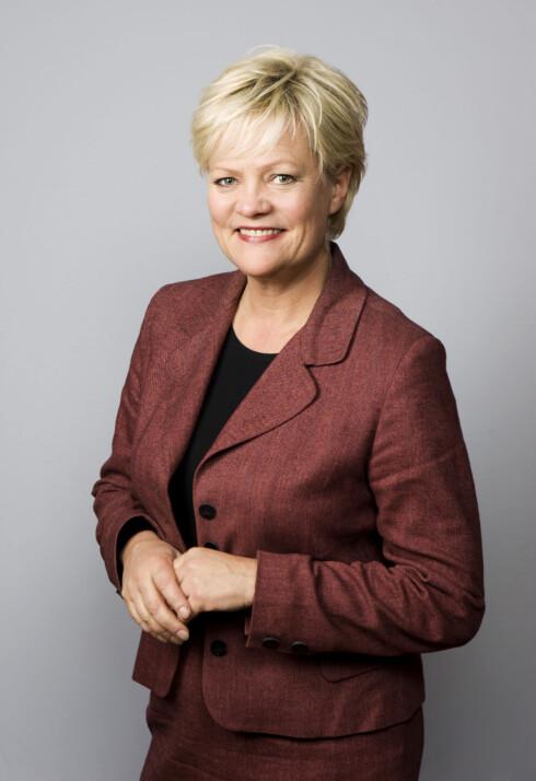 Kristin Halvorsen, som er leder i Bioteknologirådet   Foto: Pressefoto