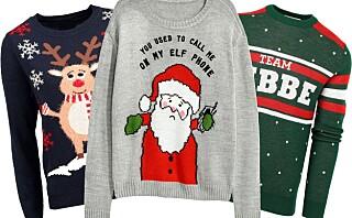 Her finner du årets beste julegensere