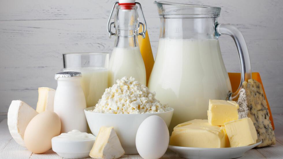 MEIERIPRODUKTER: Meieriprodukter er en viktig kildene til kalsium og det er derfro viktig at disse er en del av kostholdet ditt.  Foto: Dmytro Sukharevskyy - Fotolia