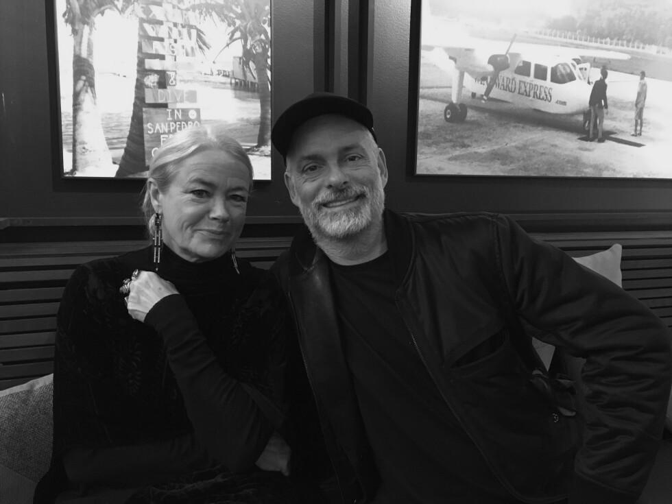 DYRBERG/KERN: Designerduoen bak det kjente smykkemerket har kjent hverandre i 32 år, og Gitte Dyrberg og Henning Kern er like glade i hverandre som de var da. Foto: KK.no