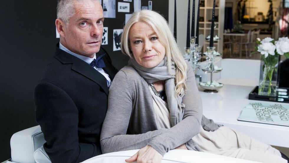 DYRBERG/KERN: Henning Kern og Gitte Dyrberg har åpnet butikk i Norge - 32 år etter at det hele begynte. Foto: Per Ervland