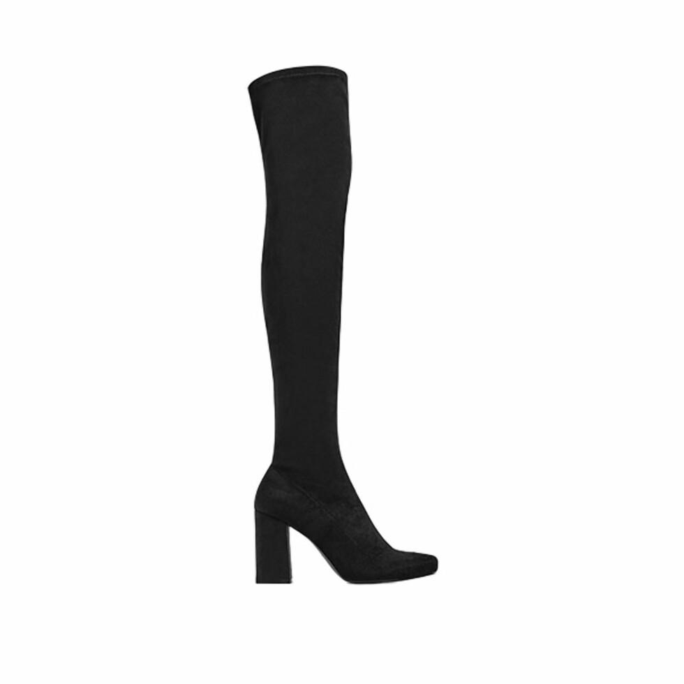 Lårhøye støvletter fra Zara | kr 679 | http://www.zara.com/no/en/woman/shoes/boots/stretch-leg-high-heel-boots-c269197p4283105.html