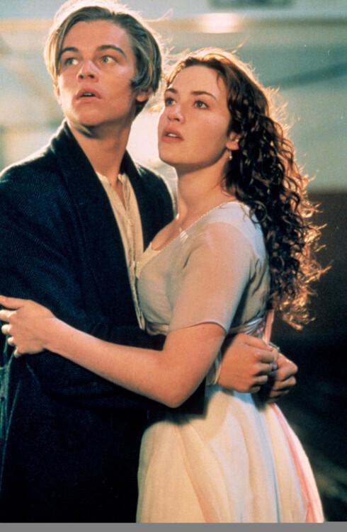 TITANIC: Leonardo DiCaprio og Kate Winslet gjorde stor suksess med filmen fra 1997. Foto: Heritage