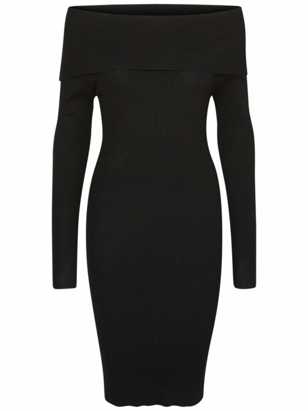 <strong>Kjole fra Vero Moda   kr 449,95   http:</strong>//www.veromoda.com/no/no/vm/handla-efter-kategori/kjoler/off-shoulder-kjole-10158223.html?cgid=vm-dresses&dwvar_colorPattern=10158223_Black