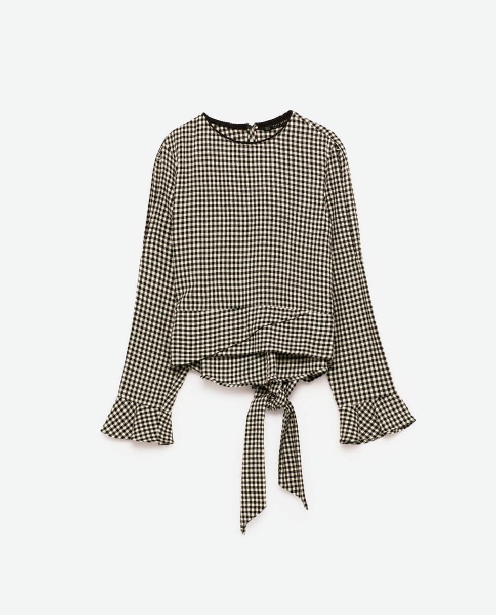 <strong>Rutete topp fra Zara | kr 299 | http:</strong>//www.zara.com/no/no/dame/skjorter/se-alle/topp-med-ginghamruter-c733890p4141050.html