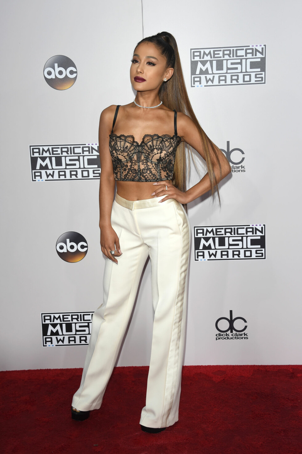 AMERICAN MUSIC AWARDS: Ariana Grande. Foto: Pa Photos