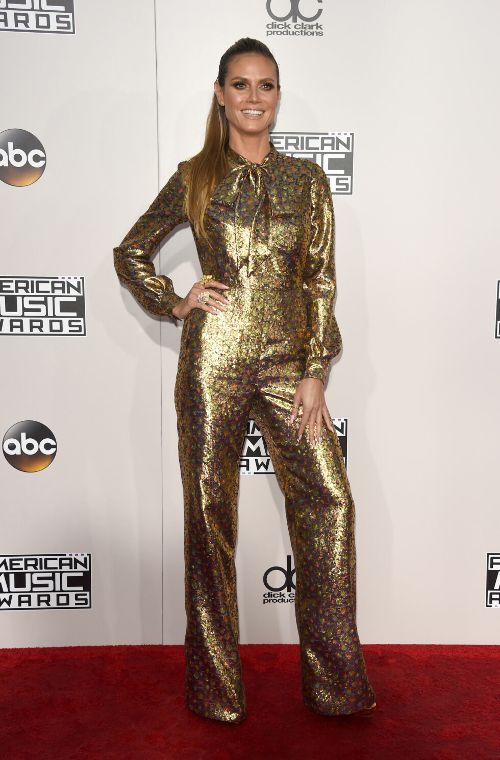 AMERICAN MUSIC AWARDS: Heidi Klum Foto: Pa Photos