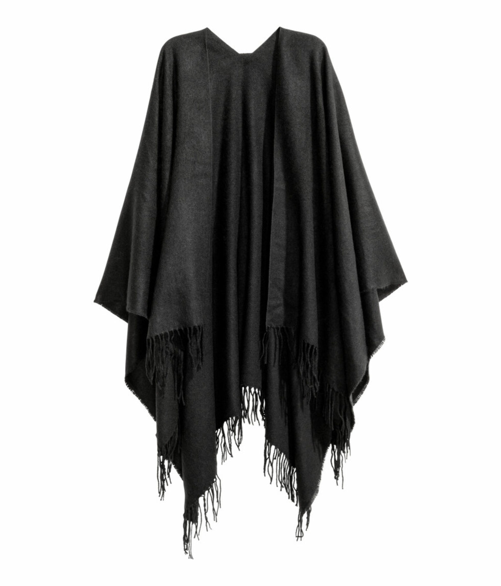 Poncho fra H&M | kr 199 | http://www.hm.com/no/product/38968?article=38968-B
