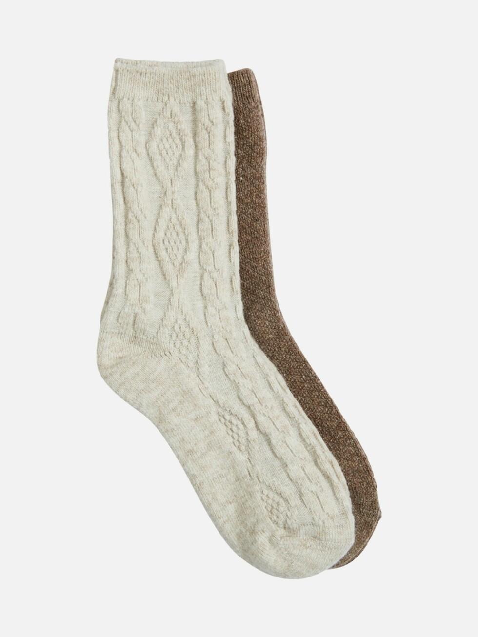 Sokker fra Cubus | kr 129 | https://cubus.com/no/7189230_F931#
