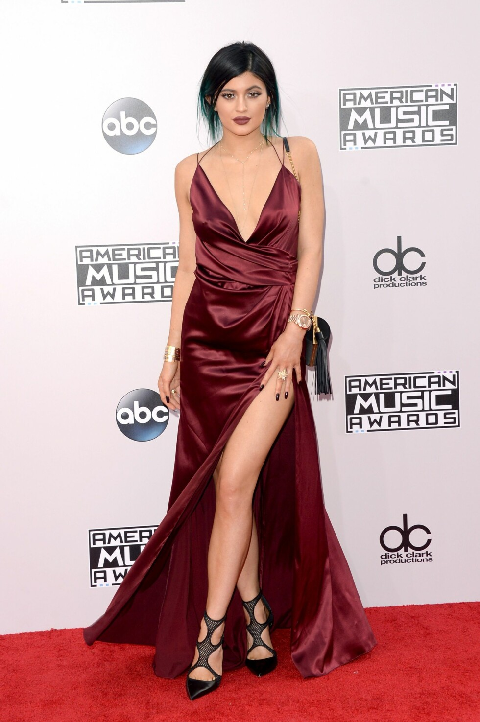 Kylie Jenner, American Music Awards 2014. Foto: Afp
