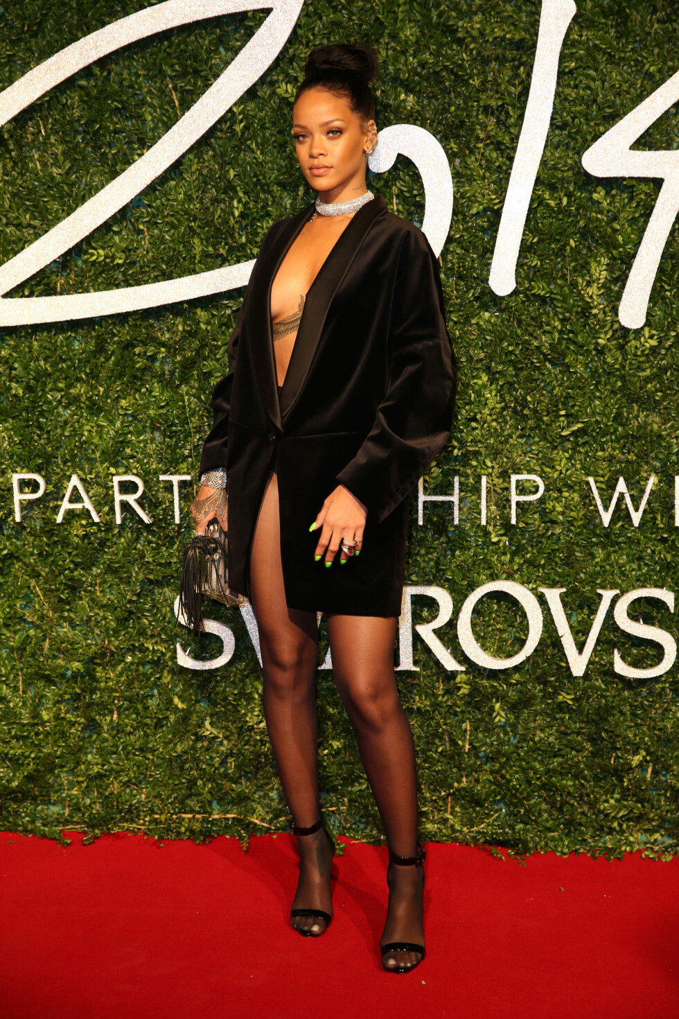 Rihanna, British Fashion Awards 2015. Foto: Polaris