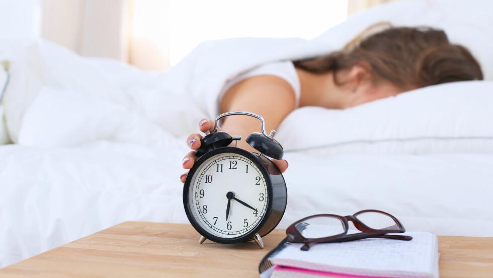 SLUMRE: Ifølge ekspertene er det ikke noe vits i å slumre og dette er hvorfor!  Foto: Shutterstock / S_L