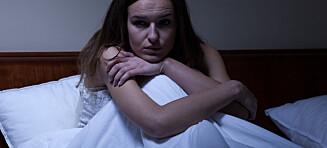 - Lite søvn og stress kan trigge natteskrekk