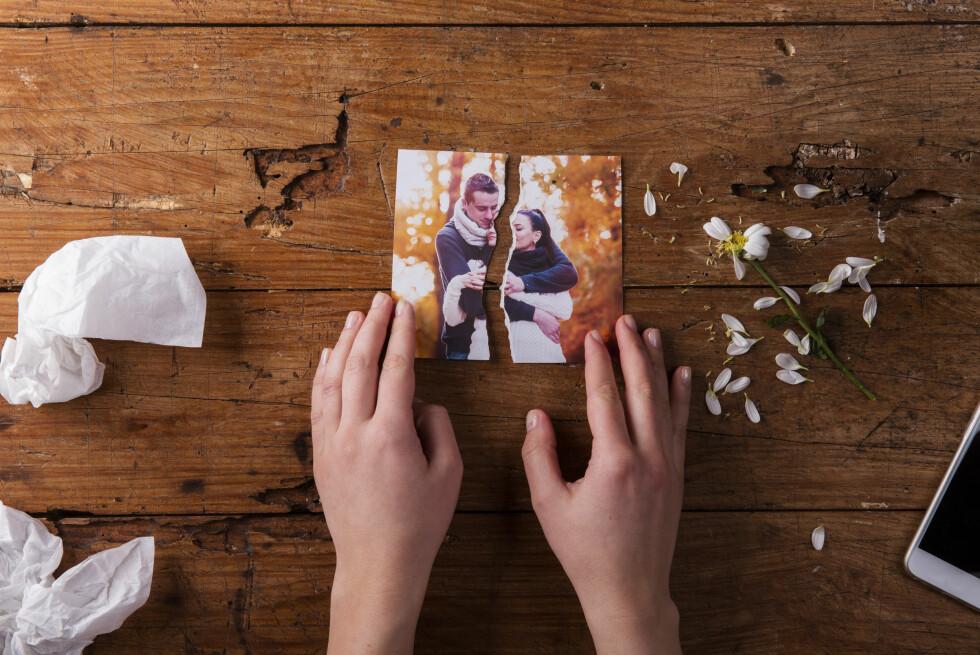 PARFORHOLD: Selv om det kan være en million ulike grunner til at det enkelte forhold møter veggen, så er det noen ting som har en tendens til å gå igjen. Foto: Shutterstock / Halfpoint