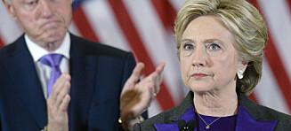 Derfor stilte ekteparet Clinton i lilla