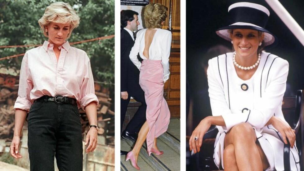 MOTEIKON: - Diana redefinerte på mange måter den kongelige stilen fordi hun turte å ta noen vågale motevalg som ettersittende kjoler, dypere utringninger og kortere skjørtelengder, har Silje Pedersen tidligere sagt til KK.no. Foto: Scanpix