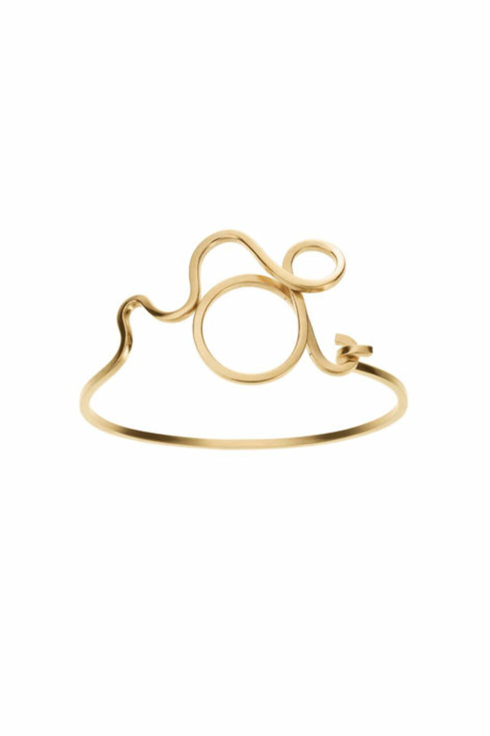 Armbånd fra Ganni x Sophie Bille Brahe | kr 1549 | http://www.ganni.com/shop/accessories/ganni-x-sophie-bille-brahe-bracelet/J1002.html?dwvar_J1002_color=Gold