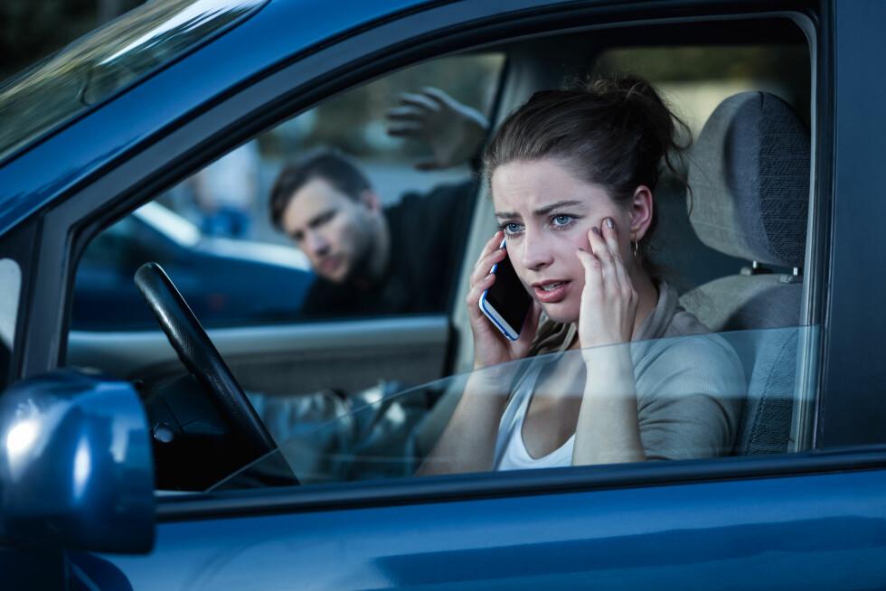 SLITER PÅ NERVENE: 70 prosent av de som utsettes for stalking får en form for stresslidelse i ettertid, Foto: Shutterstock / Photographee.eu