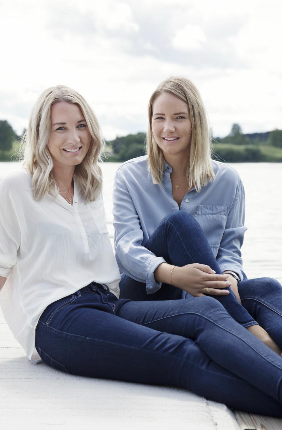 FIKK KYSSESYKEN: Søstrene Anette og Line ønsker seg tilbake til normalen. Begge fikk ME i 2013 etter kyssesyken.  Foto: Yvonne Wilhelmsen