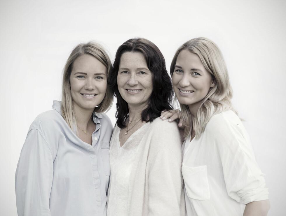 HAR FÅTT DIAGNOSEN: Både Eva Karin og døtrene er nøye utredet ogdiagnostisert etter de strenge Canada-consensus-kriteriene for å fastslå ME.  Foto: Yvonne Wilhelmsen