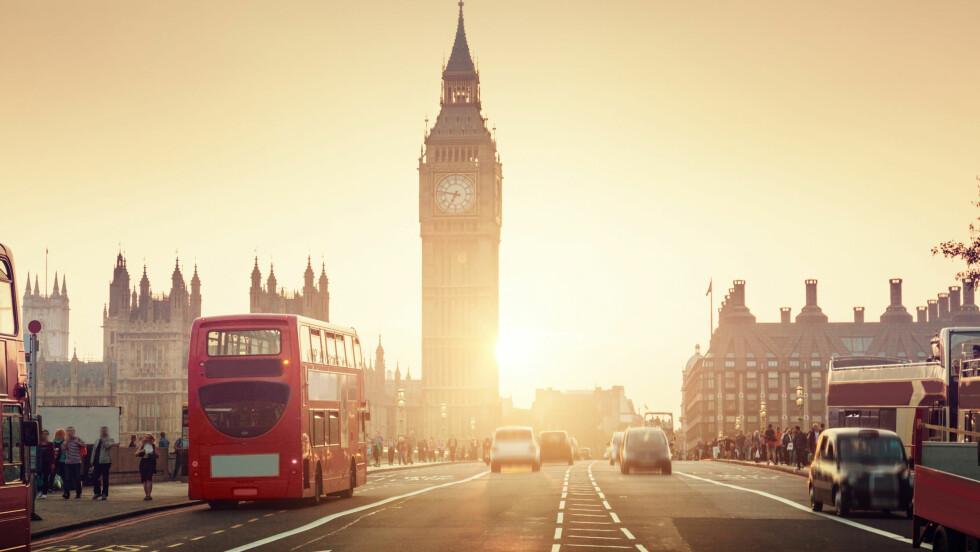 LONDON: Reis til den fantastiske storbyen på budsjett! Foto: Shutterstock / ESB Professional