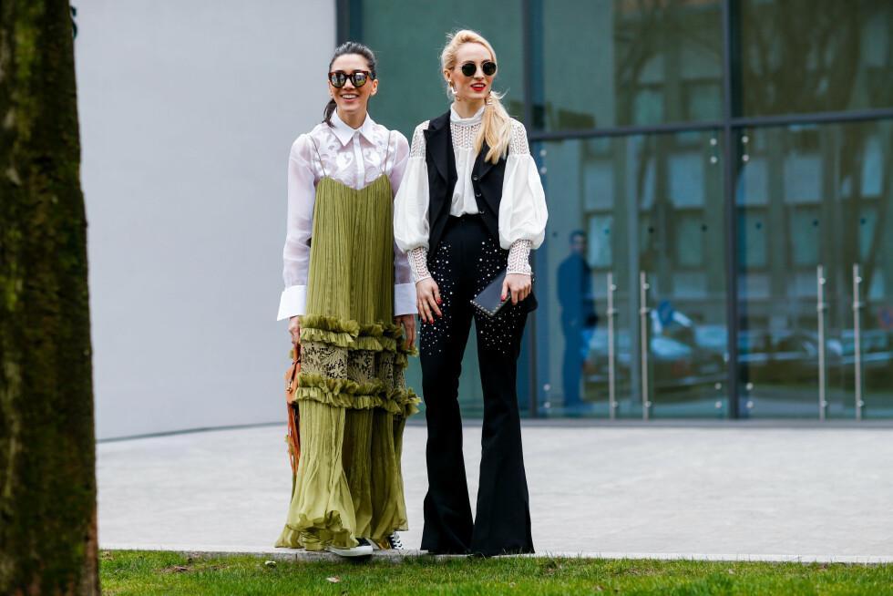 STYLINGTRIKS: Å bruke en topp eller kjole med spaghettistropper over en skjorte, t-skjorte eller kjole, er supersmart og veldig trendy. Foto: Abaca