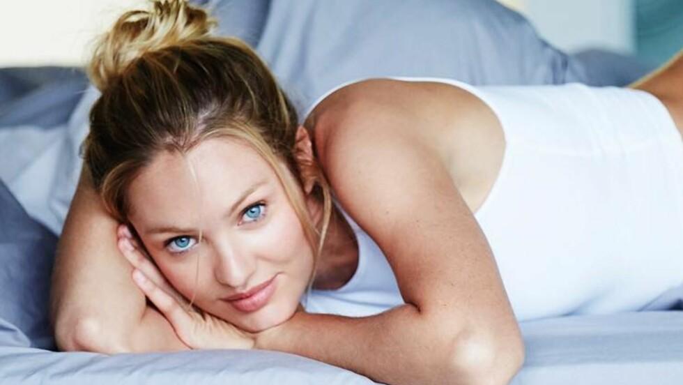 CANDICE SWANEPOEL: Supermodellen avslører sine beste skjønnhetstips! Foto: SipaUSA