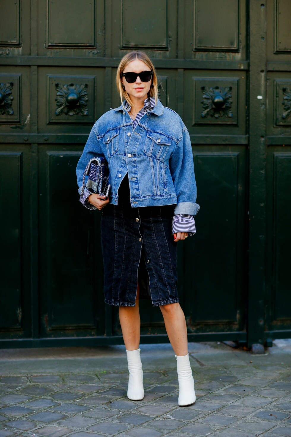 STREETSTYLE: Pernille Teisbæk Foto: Abaca