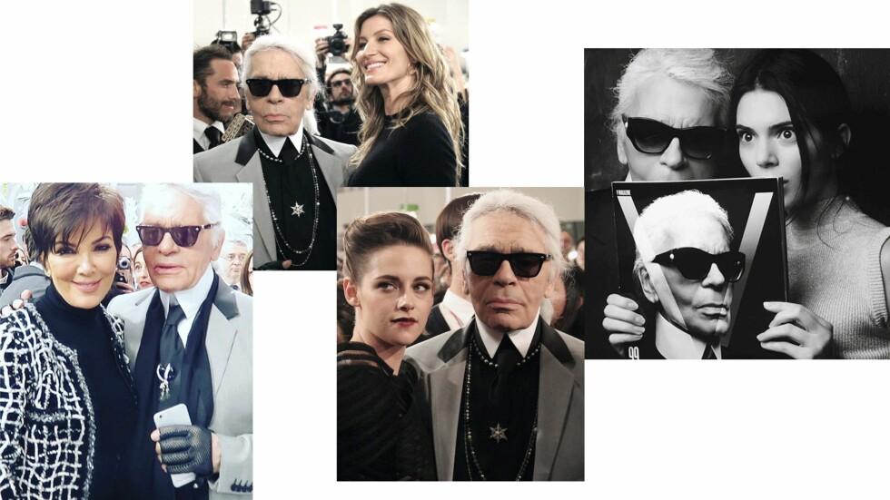 FASJONABLE VENNER: Du skal ikke se bort i fra at Kardashian/Jenner-klanen vil benytte seg av Lagerfeld-hotellet.  Foto: Scanpix