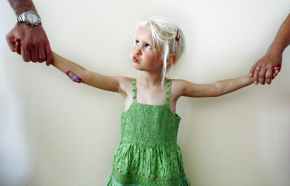 SKILSMISSE: Når barnet ikke vil til mamma eller pappa.  Foto: NTB scanpix