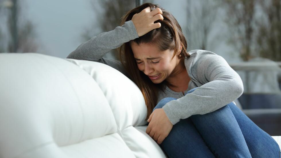 VERRE FOR KVINNER: Det er langt flere kvinner enn menn som får akutt hjertesvikt på grunn av kjærlighetssorg. Foto: Shutterstock / Antonio Guillem