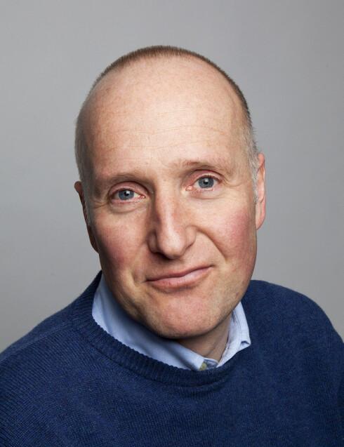 IKKE FARLIG: Jørgen Gustav Bramness, Seniorforsker for Nasjonalt kompetansesenter for rus og psykosk lidelse, forteller at å være avhengig av nesespray ikke direkte er farlig, men at det kan få diverse kortvarige konsekvenser. Foto: Privat