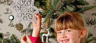 Heklet julestjerne