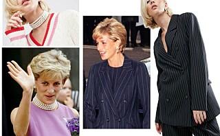 Asos lanserer kolleksjon inspirert av prinsesse Diana