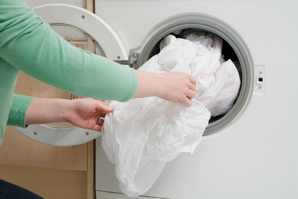 <strong>VASK:</strong> bør gjerne byttes annenhver uke, og vaskes på 60 grader i vaskemaskinen. Foto: Image Source