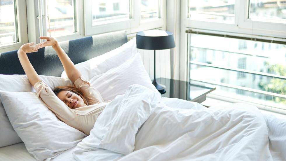 SØVN ER VIKTIG: Søvn er viktig for helsen, og forskning viser at det er en sammenheng mellom søvnmangel og overvekt. Foto: Shutterstock / Nenad Aksic