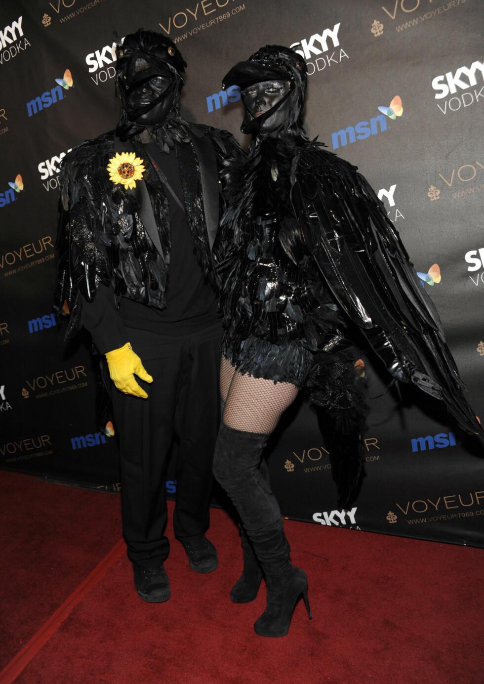 2009: Heidi Klum og eksmannen Seal. Foto: AP