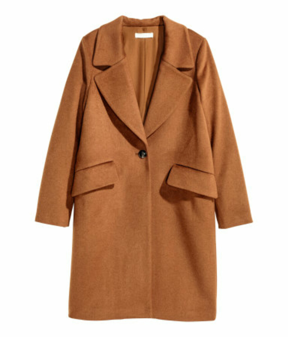 <strong>Kåpe fra H&M |  kr 699 | http:</strong>//www.hm.com/no/product/53017?article=53017-C