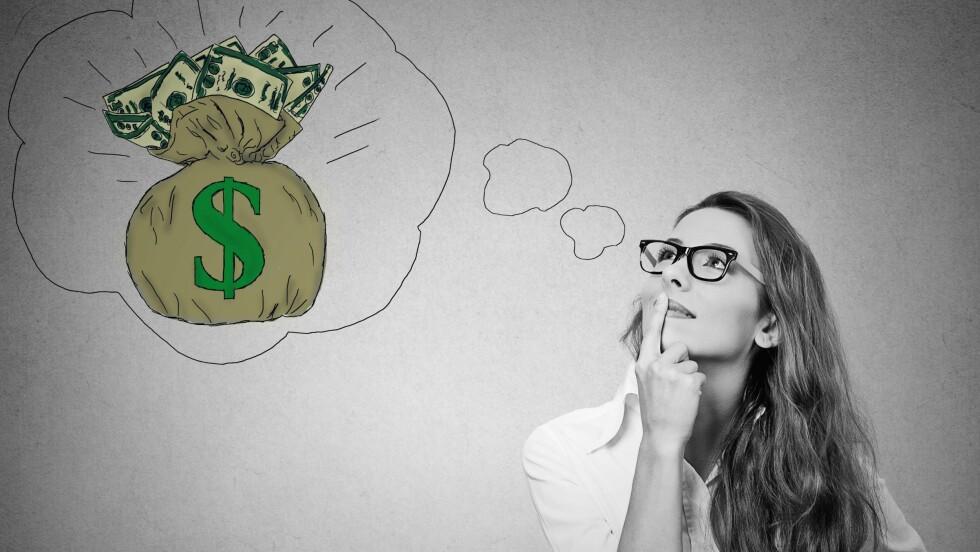 FORBRUKSLÅN: Et forbrukslån kan ofte være oppimot 10 ganger så dyrt som et boliglån, så det er lurt å tenke seg godt om. Foto: Scanpix