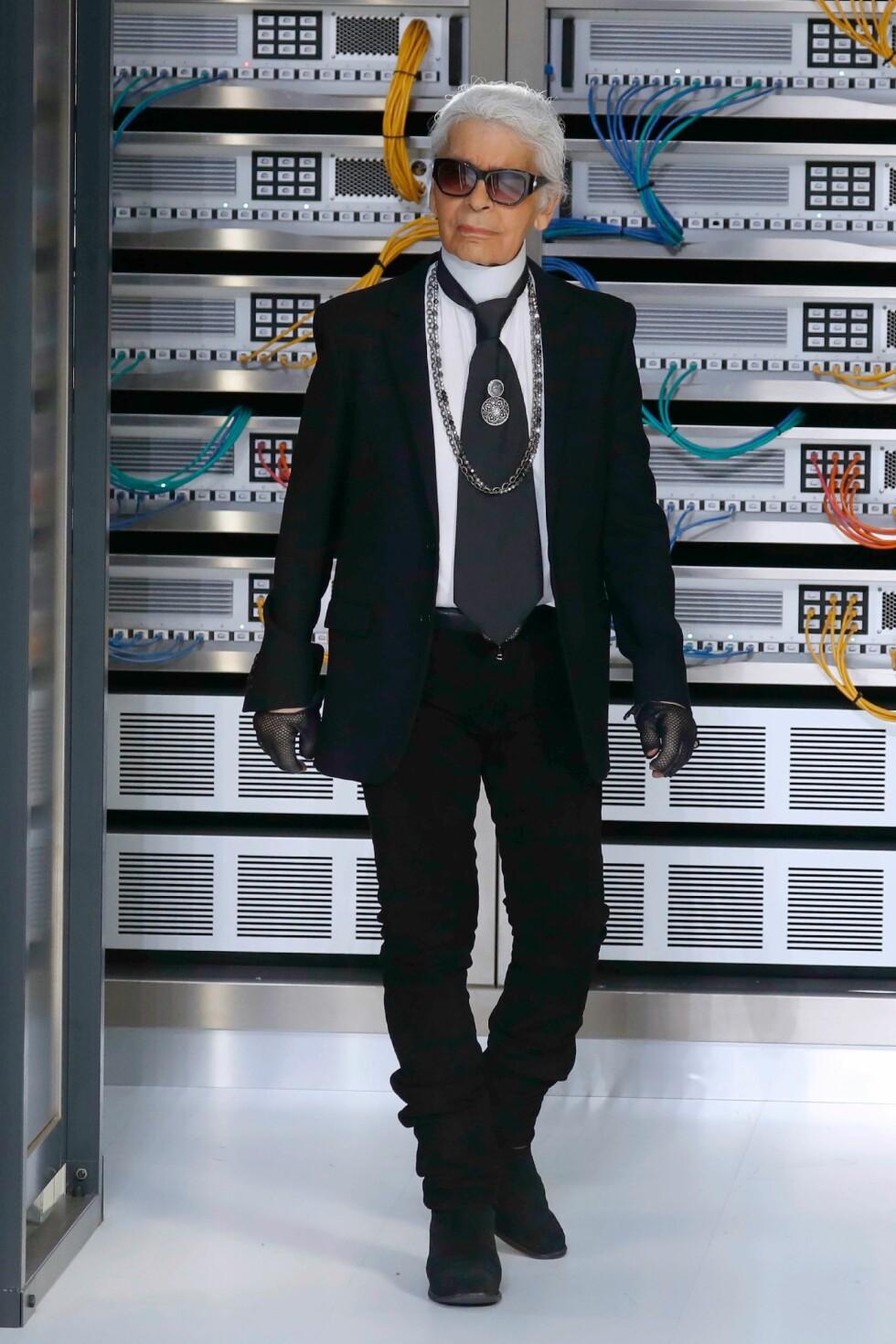 CHANEL SS17: Karl Lagerfeld Foto: Afp