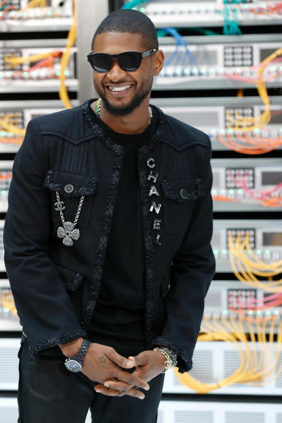 CHANEL SS17: Usher Foto: Afp