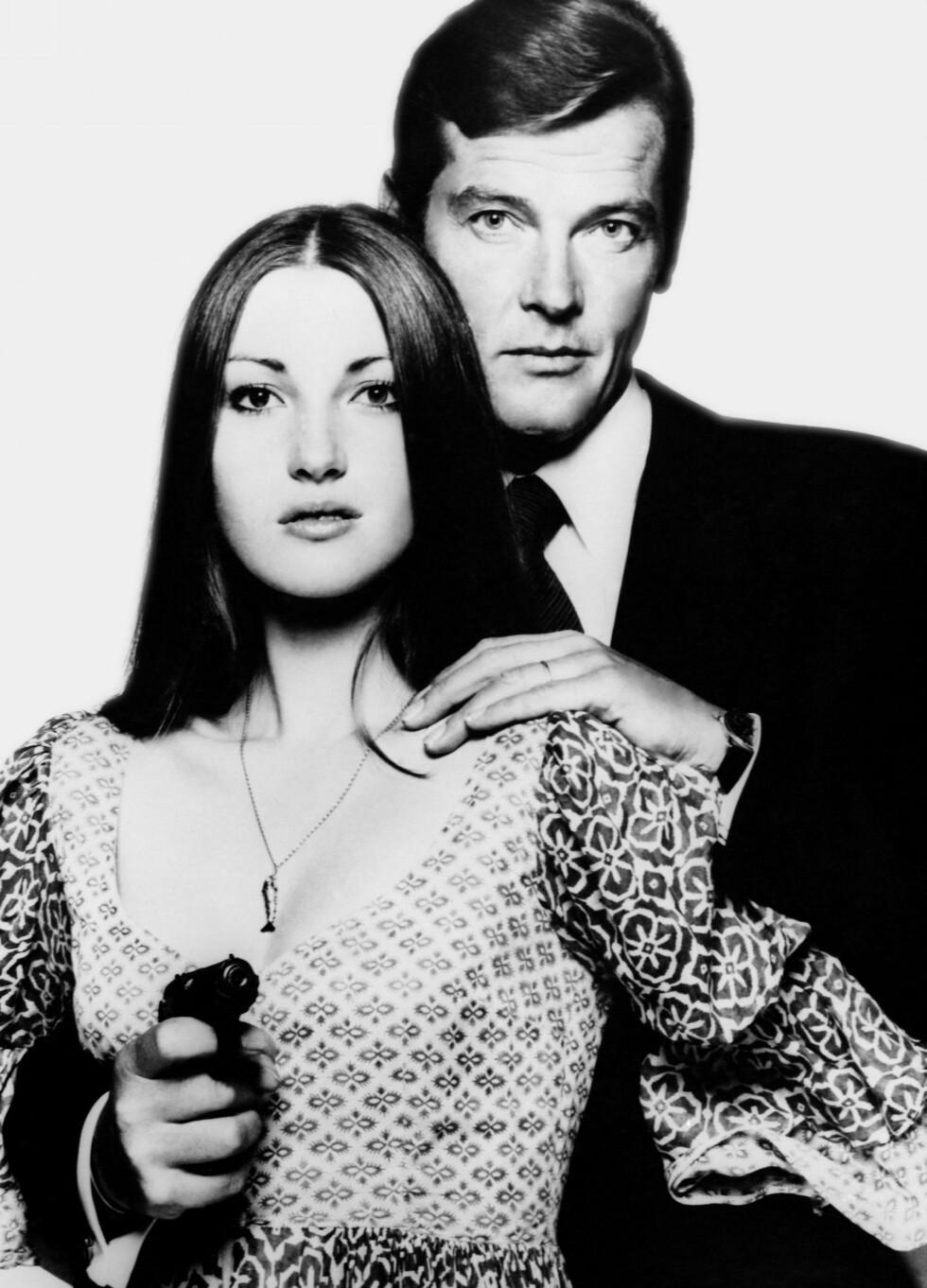 I James Bond-filmen Live and Let Die med Roger Moore 1973. Foto: EON/UNITED ARTISTS / Album