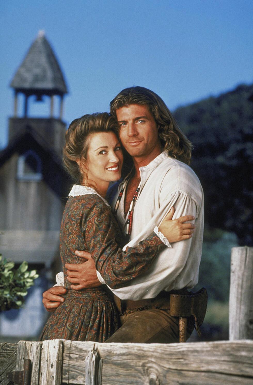 Seymour vant en Emmy-pris for rollen i den familievennlige western-serien.  Foto: CBS-TV / Album