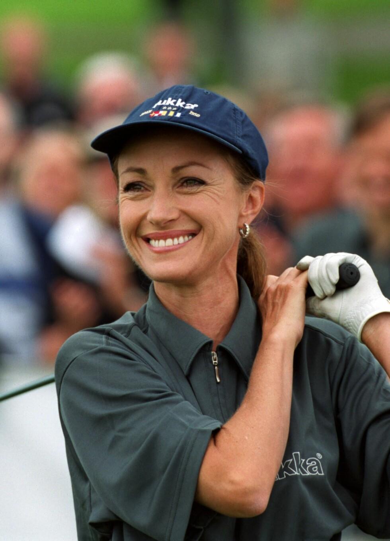 På golfturnering i 2000 i Stockholm.  Foto: TT NYHETSBYRÅN