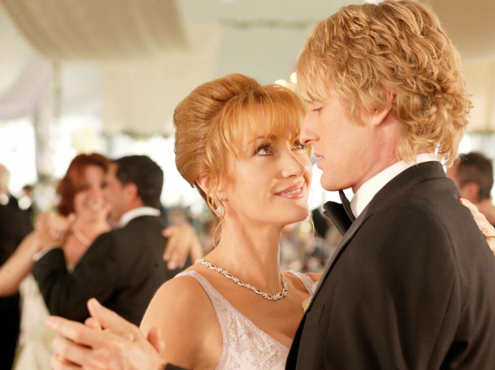 I Wedding Crashers med Owen Wilson - 2005.  Foto: NEW LINE CINEMA / CARTWRIGHT, RICHARD / Album
